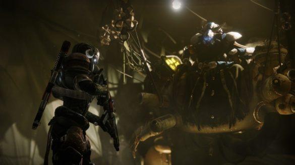Розыск Истощённый Капитан в Destiny 2