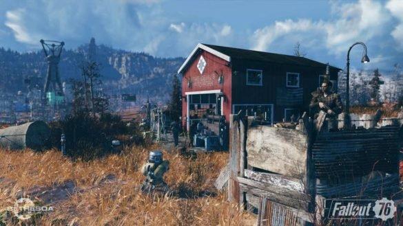 Локации для фарма легендарных предметов в Fallout 76