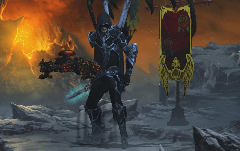 Мантия Тени Diablo 3