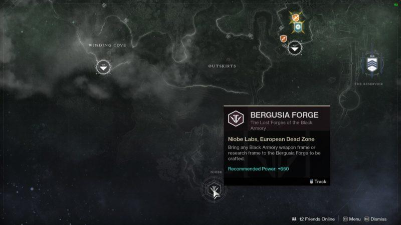 Destiny 2 Йотун кузница Бергузия