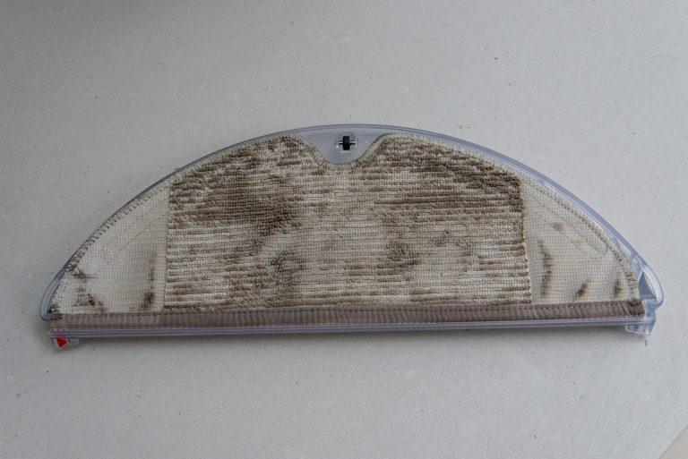Салфетка Roborock E2 после мытья полов
