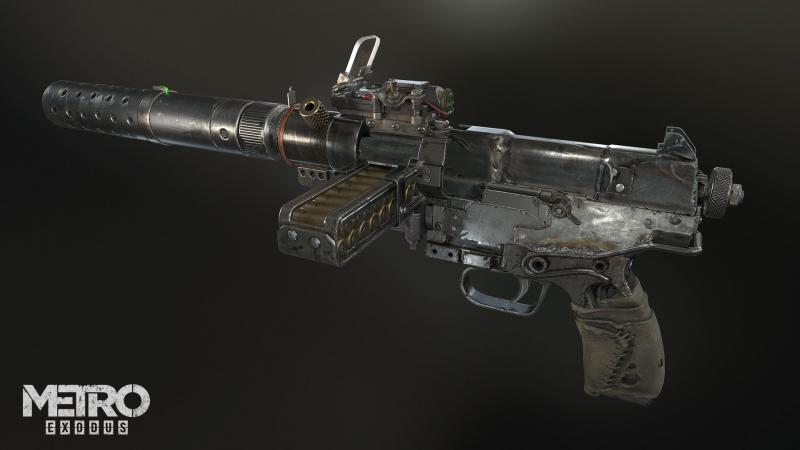 Всё оружие в Metro Exodus