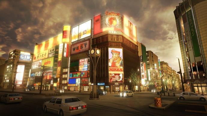 Мы посещаем Токио в серии якудза