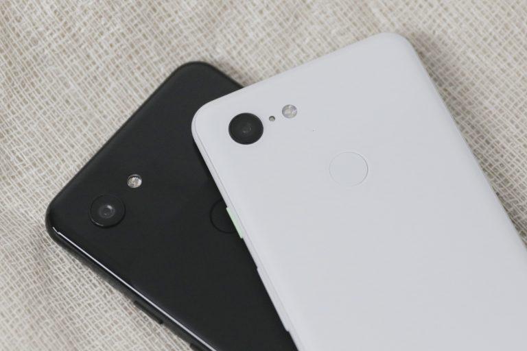 Макрос перекрытия камеры Google Pixel 3a и Pixel 3