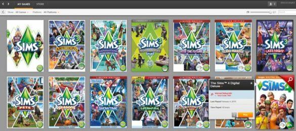 Дополнения The Sims 4