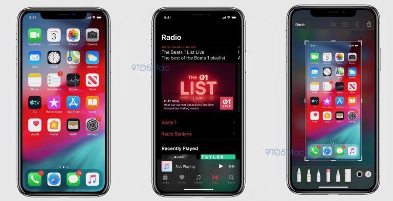 iOS 13 утечка iPhone