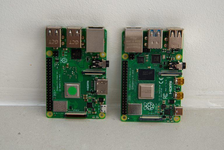 Raspberry Pi 4 Модель B против Pi 3 Модель B +
