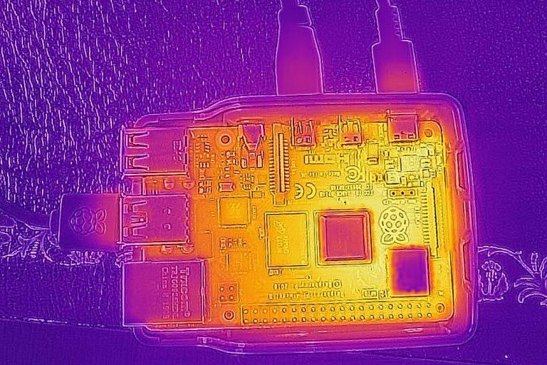 Raspberry Pi 4 Модель B термальная