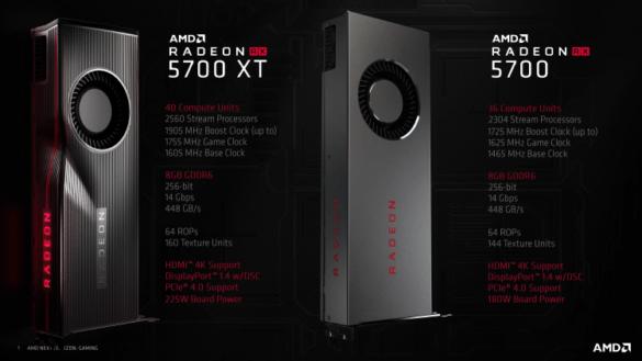 Radeon RX 5700 / RX 5700 XT