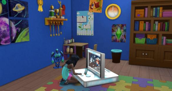 Детские навыки в Sims 4