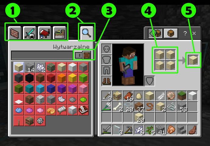 Создание предметов в Minecraft
