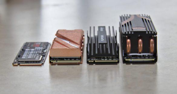 Сравнение PCIe 4.0 и PCIe 3.0 SSD
