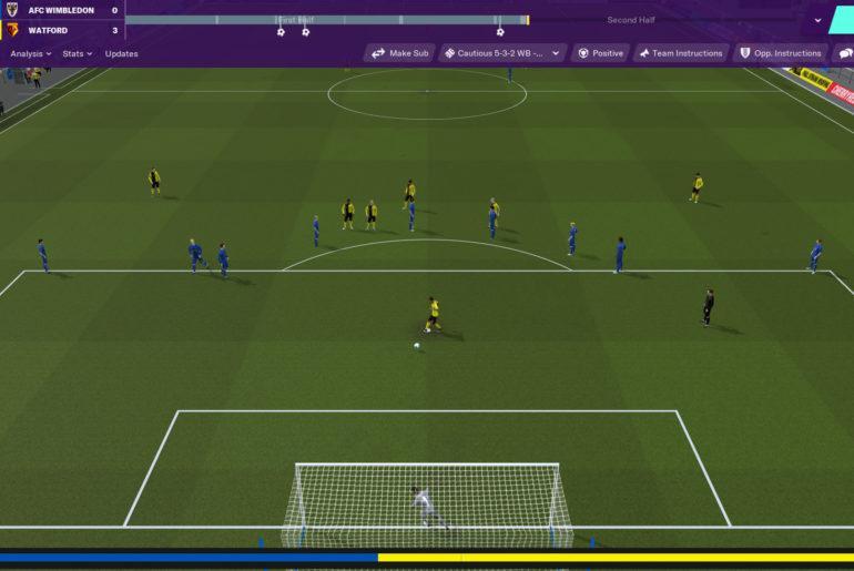 Тактика в Football Manager 2020