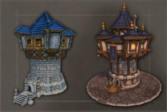 Все здания людей в Warcraft 3