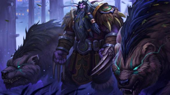 Warcraft 3: Reforged - Ночные Эльфы: Магические Юниты - Дриада, Друид медведь и Друид ворон