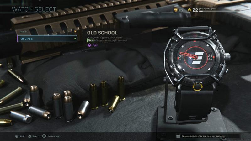 Call of Duty Warzone - Часы: как разблокировать и купить