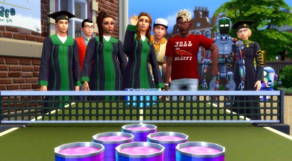 Расширение The Sims 4 В Университете