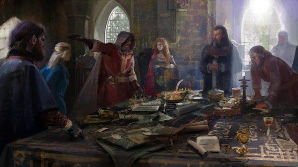Как переместить столицу в Crusader Kings 3