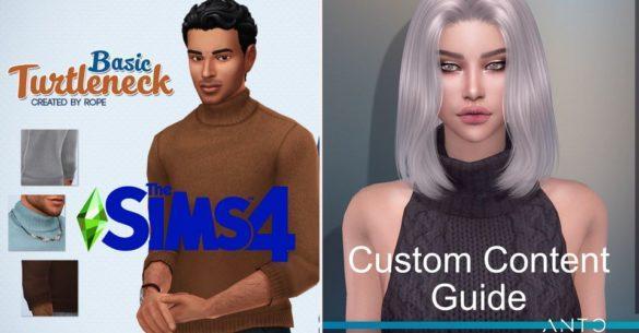 Гайд по The Sims 4: Поиск и установка пользовательского контента