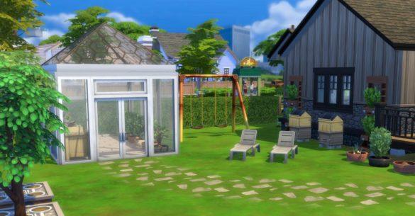 The Sims 4 сезона: Заработок денег с помощью садоводства