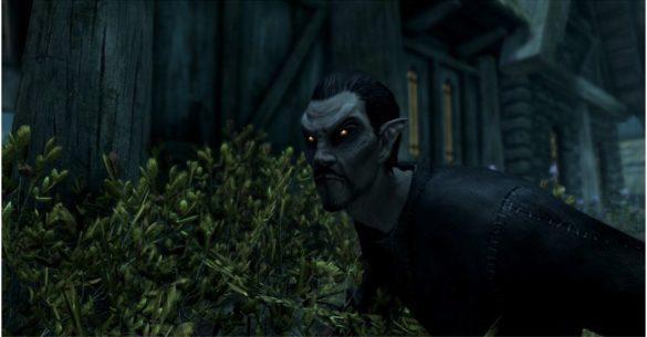 Skyrim - Становление вампиром