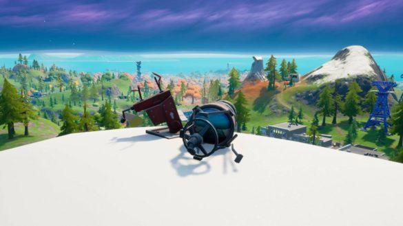 Fortnite: Где найти разбитые телескопы и сбитый черный вертолет