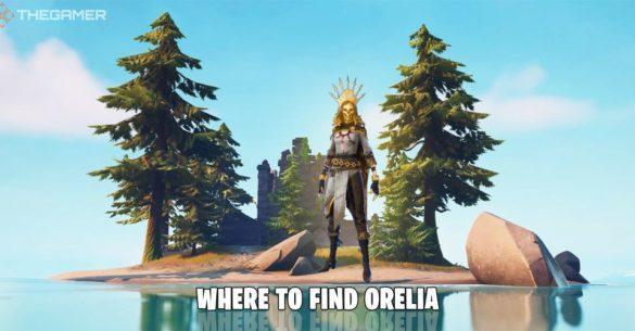 Fortnite: где найти Орелию