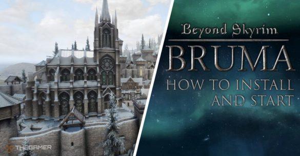Как установить Skyrim Bruma